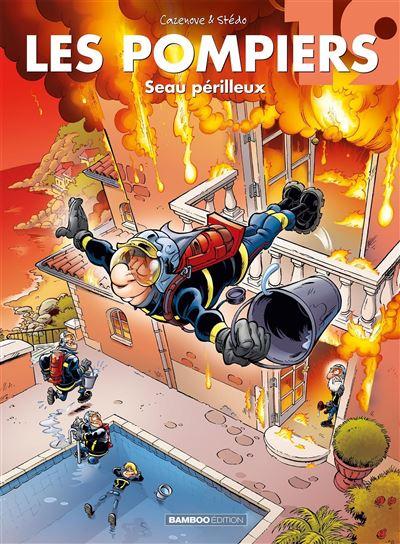 Les pompiers - Seau périlleux