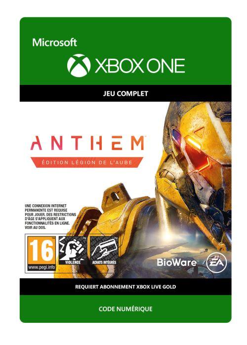 Code de téléchargement Anthem Édition Légion de l?Aube Xbox One