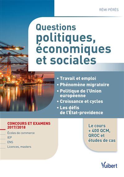 Questions politiques, économiques et sociales