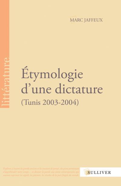 Etymologie d'une dictature