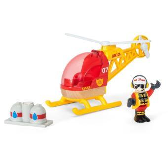 Hélicoptère des pompiers Brio