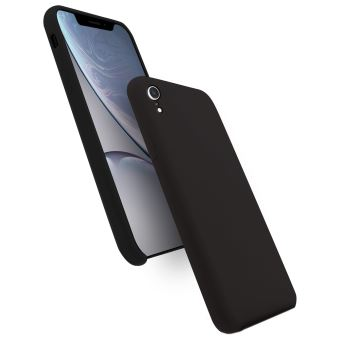 Wave Silicone Case Black Apple iPhone XR