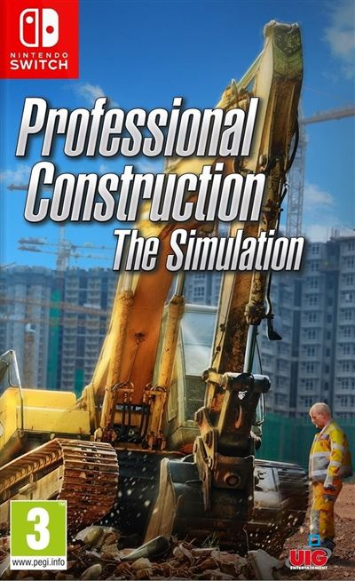 Professional Construction the Simulation Nintendo Switch