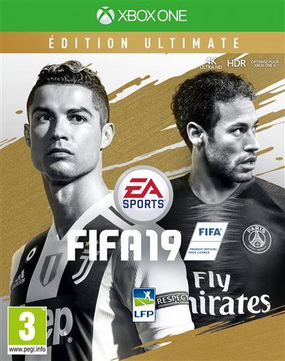Code de téléchargement FIFA 19 Edition Ultimate Xbox One