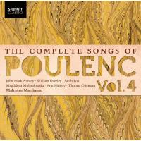 POULENC: THE COMPLETE SONGS VOL.4