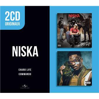 2 CD Originaux : Charo Life Commando