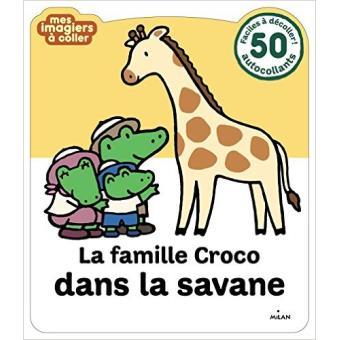 La famille Croco dans la savane