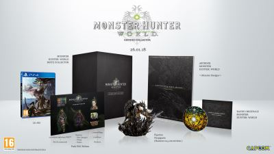 Monster Hunter World Edition Collector PS4