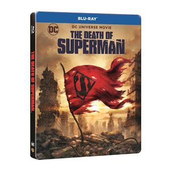 The Death of Superman Steelbook Blu-ray