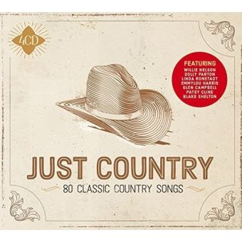 JUST COUNTRY/4CD
