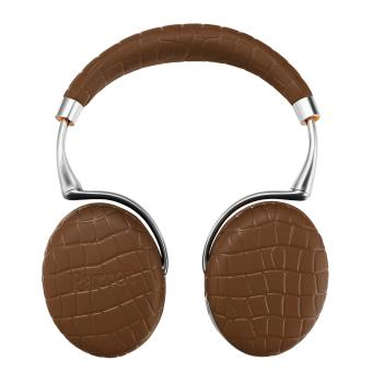 Casque Parrot Zik 3 by Starck Brun Croco