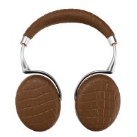 Casque Parrot Zik 3 by Starck Brun Croco avec chargeur à induction