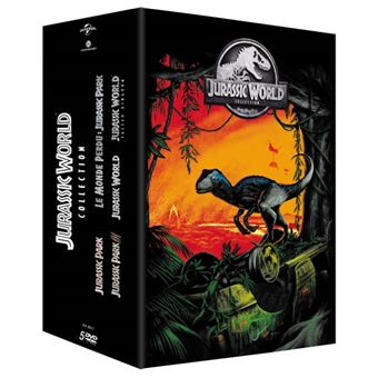 Jurassic ParkCoffret Jurassic Park 1 à 5 DVD