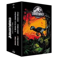 Jurassic park collection 1 a 5 coffret