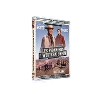 Les Pionniers de la Western Union Combo Blu-ray DVD