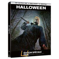 Halloween Steelbook Edition Spéciale Fnac Blu-ray 4K Ultra HD