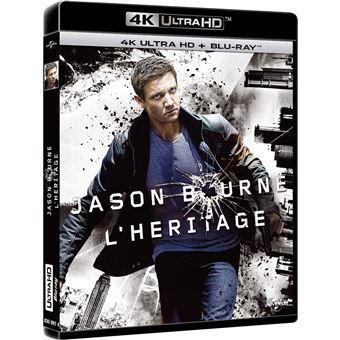 Jason BourneBourne L'héritage Blu-ray 4K Ultra HD