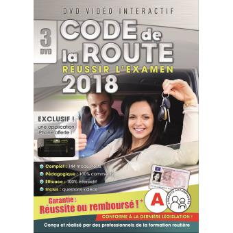 coffret code de la route 2018 dvd dvd zone 2 achat prix fnac. Black Bedroom Furniture Sets. Home Design Ideas