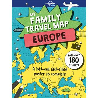 My family travel map Europe