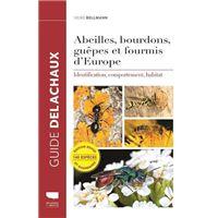 Abeilles, bourdons, guêpes et fourmis d'Europe - Identification, comportement, habitat
