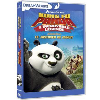 Kung Fu PandaKung Fu Panda L'incroyable légende Le justicier de minuit Volume 3 DVD