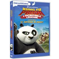 Kung Fu Panda L'incroyable légende Le justicier de minuit Volume 3 DVD