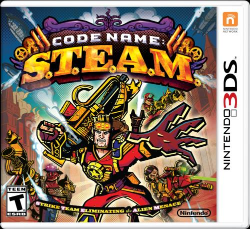 Code Name S.T.E.A.M. 3DS