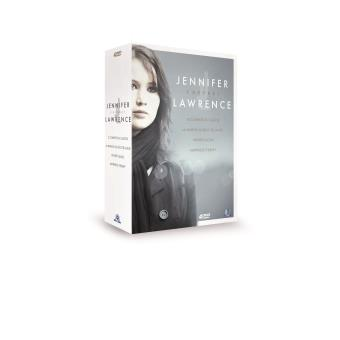 Coffret Jennifer Lawrence 4 films DVD
