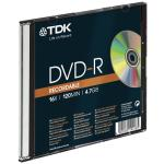 Disques TDK DVD-R Recordable 4.7 GB, Pack de 5