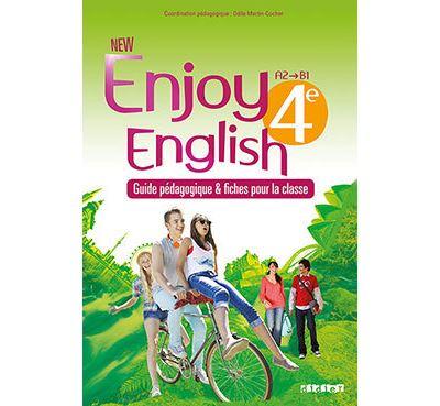 New Enjoy English 4e - Guide pédagogique - version papier + fiches classe