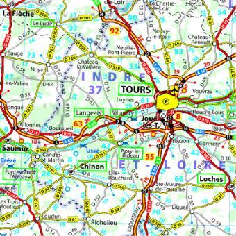 Carte Routiere De France 2019.Carte France 2019 Michelin