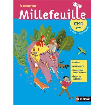 Nouveau Millefeuille Cm1 Manuel 2019