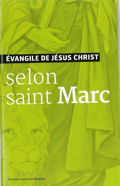 Evangiles de Marc