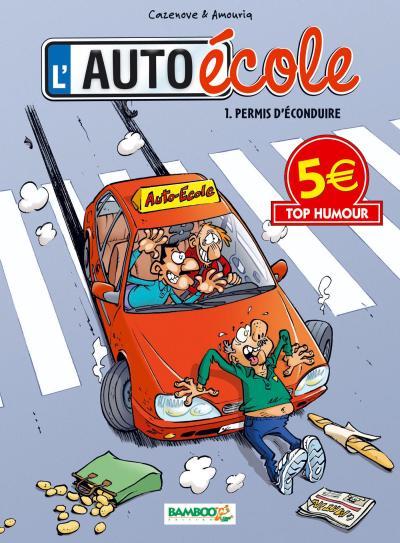 L'auto école - Tome 1 : L'auto ecole t1 top humour 2014