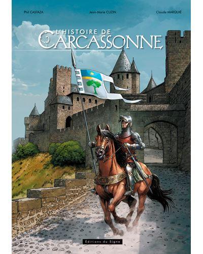 L'histoire de Carcassone