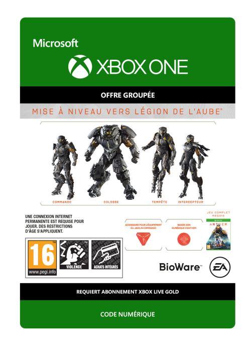 Code de téléchargement Anthem Édition Légion de l?Aube - Mise à niveau Xbox One