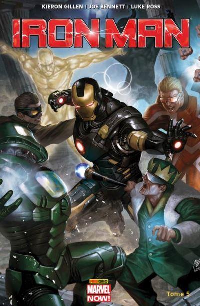 Iron-Man (2013) T05 - Les anneaux du Mandarin - 9782809464887 - 9,99 €