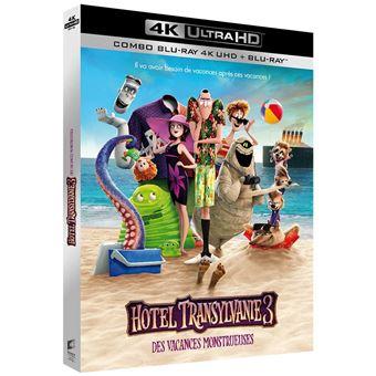 Hôtel TransylvanieHôtel Transylvanie 3 Des vacances monstrueuses Blu-ray 4K Ultra HD