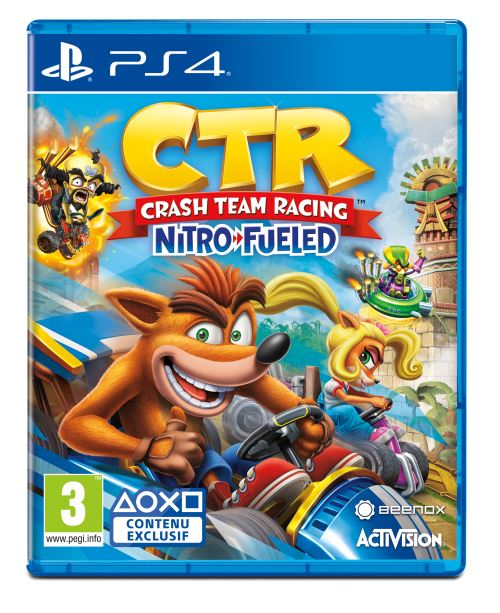 Crash Bandicoot Team Racing Nitro Fueled PS4