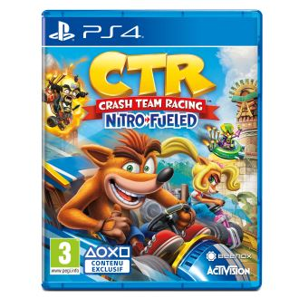 Crash Bandicoot Team Racing Nitro Fueled PS4