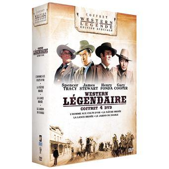 Coffret Westerns américains 4 films DVD