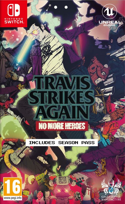 Travis Strikes Again No More Heroes Nintendo Switch