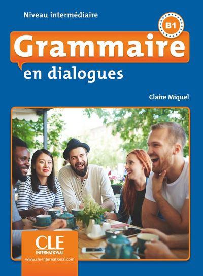 En dialogues Grammaire FLE intermédiaire + CD 2ème ED.