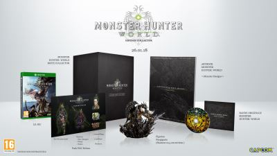 Monster Hunter World Edition Collector Xbox One