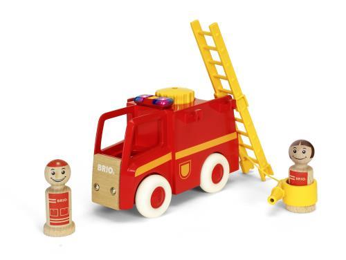 Brio My Home Town Camion De Pompier Son Et Lumiere