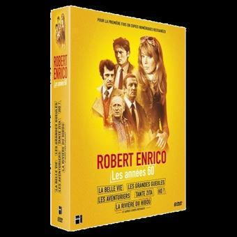 Coffret robert enrico les annees 60/inclus dvd bonus/livre