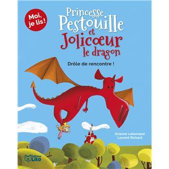 Princesse Pestouille et Jolicoeur le dragonLa rencontre !