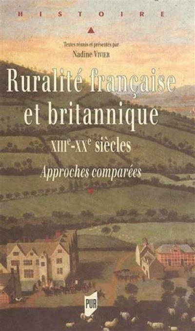 Ruralites francaises et britanniques