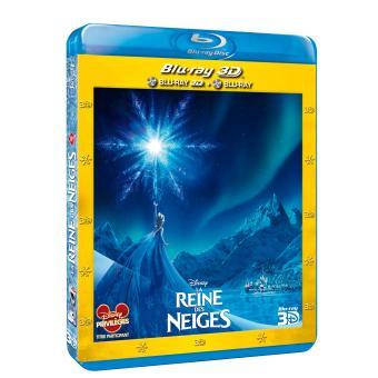 Frozen, La reine des neigeLa reine des neiges Combo Blu-Ray 3D