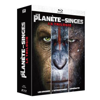 La planète des singesLa Planète des Singes Coffret La Trilogie Blu-ray